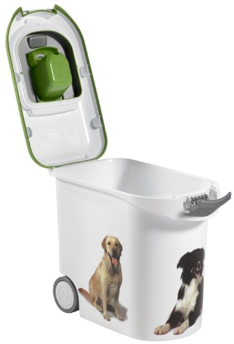 Curver Petlife Pet Food Container White 12 Kg 35 Litre