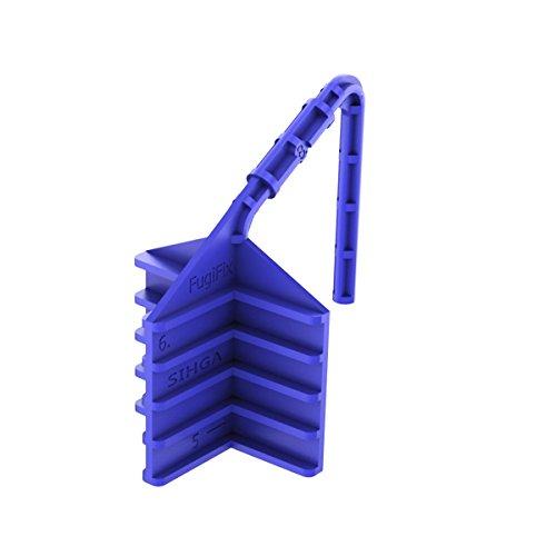 Teak-5 Stück (Sihga | FUGIFIX® FF | Terrassenbefestigung | Abstandshalter | 5 Stück)