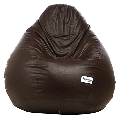 Excel Classic Bean Bag Cover without beans - XXXL Size - Brown Colour  available at amazon for Rs.999