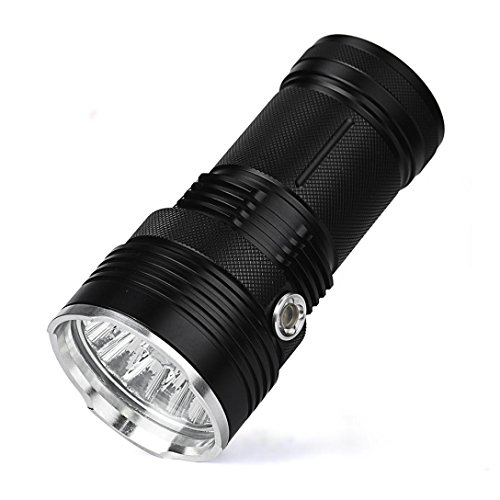 Preisvergleich Produktbild LED Flashlight 15000 Lumens, Xjp Aluminum Alloy Super Bright Flahlight Torches for Camping, Hiking, Hunting