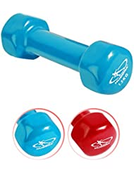 HUDORA Vinylhantel 1,5 kg 1 Stück Hantel Minihantel Joggen Fitness Sport Gewicht