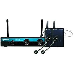 Micrófono inalámbrico - GEMINI UHF-216HL - Doble - Lavalier