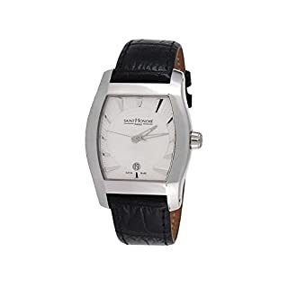 Automatikuhr Herren Saint Honoré Modell Monceau Silber und Schwarz–8970521Aia