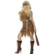 Smiffys - Disfraz de Cavernícola Mujer adulto talla S