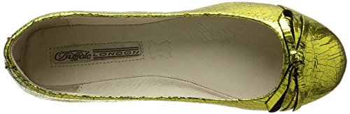 Buffalo London, Ballerines femme Or (Gold 01)