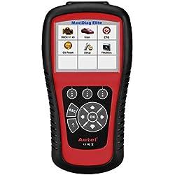 Autel Maxidiag Elite MD802 OBD2 Car Code Reader Full System Diagnostic Scanner for ABS Srs Airbag Engine Transmission Epb Oil Reset