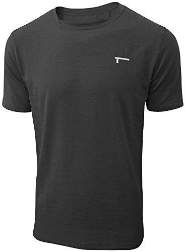 TREN Herren COOL Performance Cotton Stretch SS Tee T-Shirt Kurzarm Schwarz 001 - XXL - Performance Tee