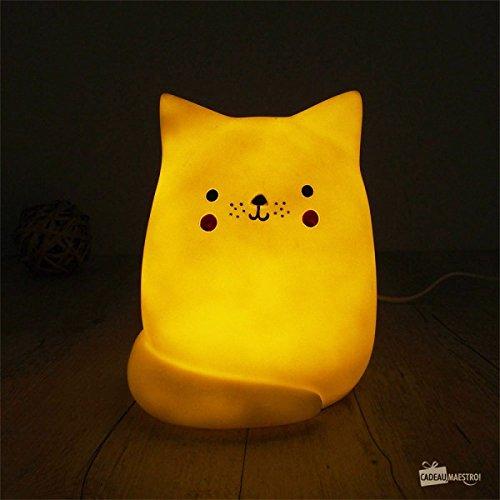 Lampe Katze grau für Kinderzimmer–House Of Disaster–eurcat