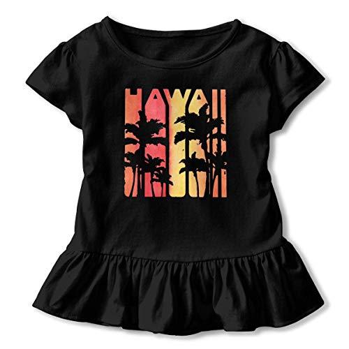 2f30ed21 adgjhbvn Vintage Hawaiian Islands Hawaii Aloha State Baby Girls' Short  Sleeve T-Shirt Camiseta
