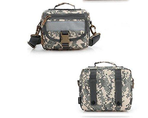 &zhou Kleine Taschen Multifunktion für Verwendung im freien Männer und Frauen kombiniert Geldbörsen Bewegung Schulter Umhängetasche 1
