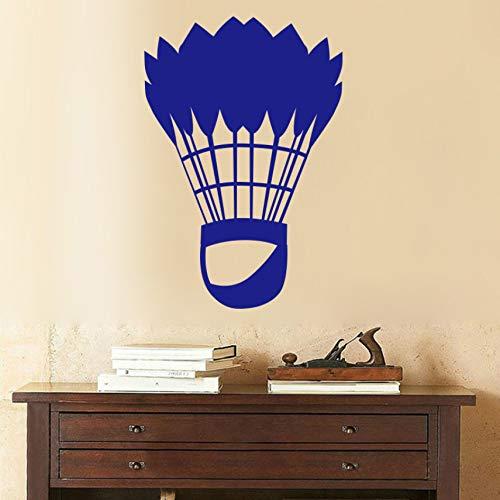 Badminton kunst wandaufkleber wohnkultur wohnzimmer wanddekoration aufkleber aufkleber wandbilder X 30cm x 44cm