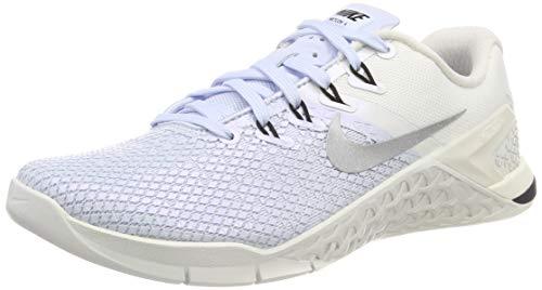 Nike Damen Metcon 4 Xd Metallic Fitnessschuhe, Mehrfarbig (Half Blue Silver/Sail/Black 400), 39 EU