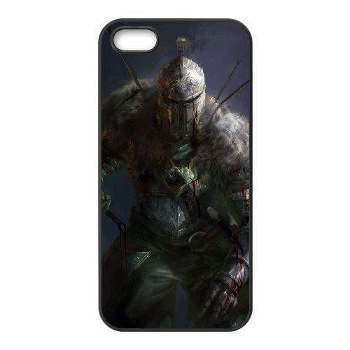 Dark Souls coque iPhone 4 4S Housse téléphone Noir de couverture de cas coque EBDXJKNBO15474