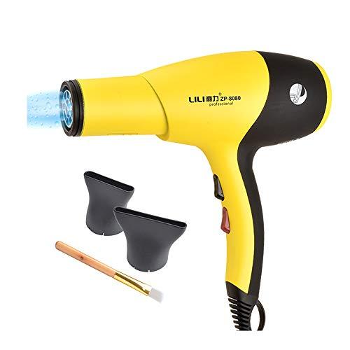 NCBH Haartrockner mit Difusser Pro Salon Grade Schnelltrocknender Föhn Ionischer Haartrockner, leicht, schnelltrocknend, geräuscharm -