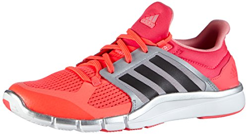 adidas Performance Adipure 360.3, Damen Hallenschuhe, Rot (Flash Red S15/Dgh Solid Grey/Silver Metalic), 36 2/3 EU (4 Damen UK) (Silver Womens-volleyball)