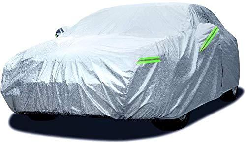 Copriauto Invernale Estivo Car Cover Impermeabile Bagnate/Windbreaker/Resistente Ai Stripes Polvere/Aux Coperta SUV Protezione Solare UV Veicolo Completo Esterno Protezione De La Voi Grande Co