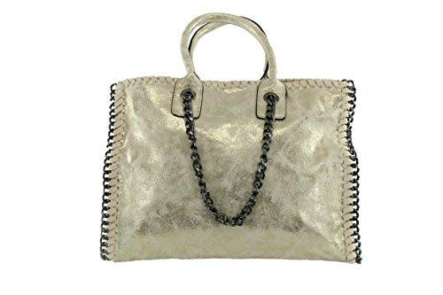 Anush Fashion, Borsetta da polso donna gold k