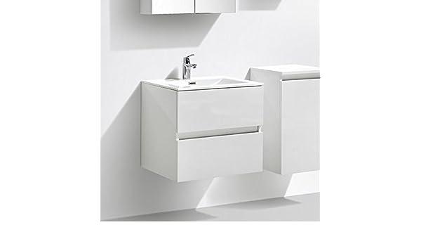 Cuisine Maison Armoires Avec Miroir Meuble Salle De Bain Design Simple Vasque Siena Largeur 60 Cm Chene Clair