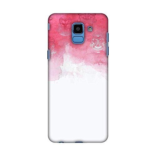 Amzer Hartschale für Samsung Galaxy J6 (2018), Design Indonesische Flagge, Aquarell -
