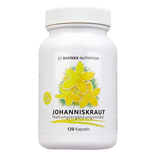 Johanniskraut 120 Kapseln im 4 Monatsvorrat - Einführungspreis - Hochdosiertes Naturprodukt mit 400...
