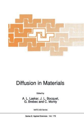 Diffusion in Materials (Nato Science Series E:, Band 179) (Al-metall-serie)