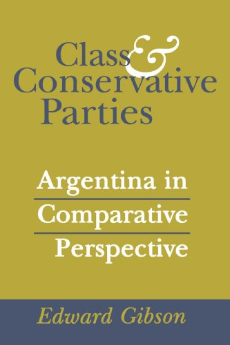Class and Conservative Parties: Argentina in Comparative Perspective por Edward L. Gibson