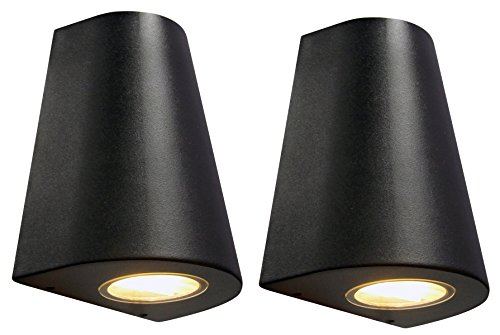 2-x-cone-shape-outdoor-wall-light-black-finish-exterior-single-downlight-zlc068b