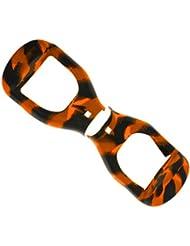 Cubierta Protectora De Silicona Para Aerotabla 6.5 Pulgadas Bici Auto Equilibrio Scooter - Naranja Negro