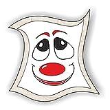 jeder-kann-basteln ♥ Sticker-Gesichter-Freude ♥ Kleiner Preis! Lustige Aufkleber (Augen, Nase, Mund) für Kinder (mittel)