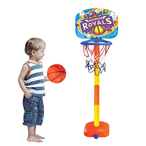 hahuha ? Basketball Royals Kleinkind Basketballkorb Spielzeug Indoor Outdoor Kit Kompatibel mit Kinder