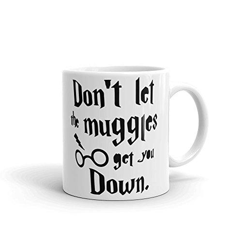 No Dejes Que El muggles Get You Down de Harry Potter Taza de cerámica