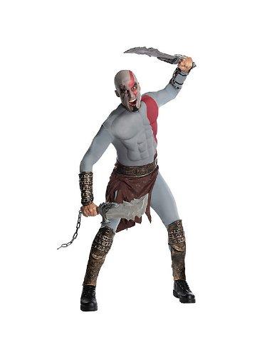 Kratos Kostüm Cosplay - God Of War Kratos Musclechest Costume Adult X-Large 44-52