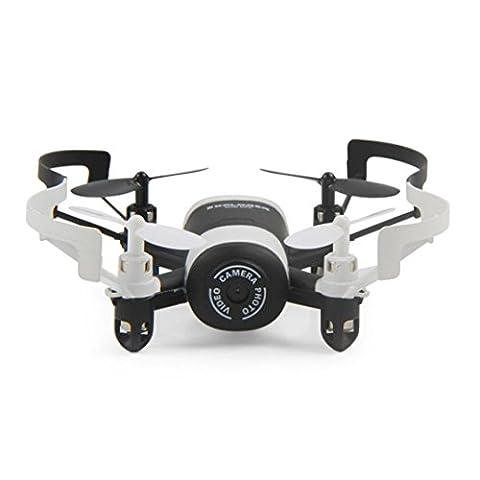 WYXlink JXD 512DW 2.4 g 6-Achsen 4KANAL HD Kamera WiFi FPV Kreisel Quadcopter Höhe halten (Schwarz)