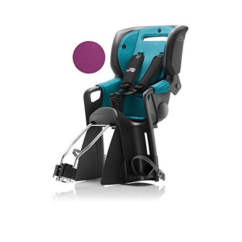 Preisvergleich Produktbild Römer Kindersitz JOCKEY Comfort f. Kids 9M. - 5J 9-22kg schwarz türkis lila