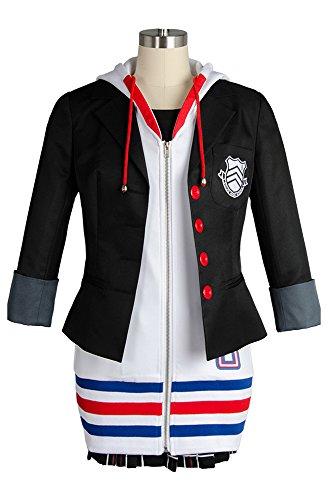 Preisvergleich Produktbild Megami Tensei Persona 5 Anne Ann Takamaki Cosplay Kostüm Kleid Uniform Suit Damen M