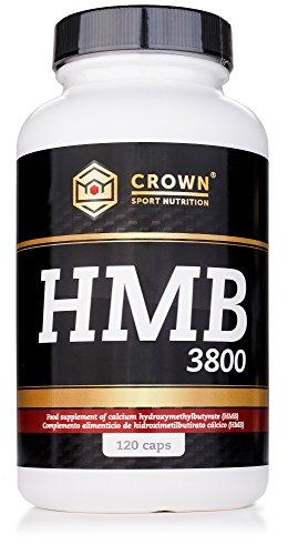Crown Sport Nutrition HMB 3800/950 mg por cápsula, Suplemento para deportistas - 120 cápsulas