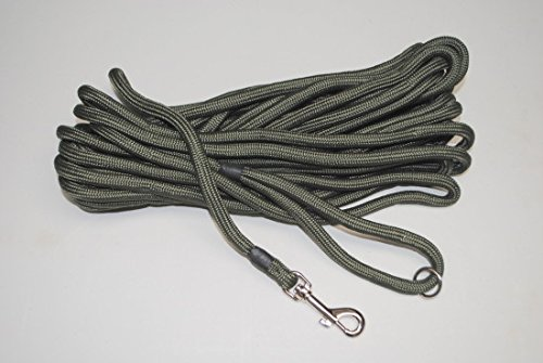 Dog-Field-2in1-10-Meter-Training-Exercise-Dog-Lead-Super-Soft-Braided-Nylon