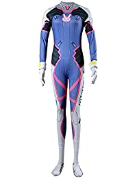 De-Cos Cosplay Costume Mech Pilot D.Va Hana Song Outfit Set V1
