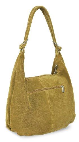 Borsa A Spalla Monaco Bag4less Da Donna, 11x37x46 Cm Giallo