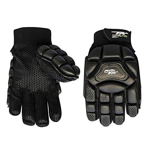 TK zwei 4AGx (Hockey-Handschuh, Schwarz, Medium LH (Tk Hockey Handschuhe)