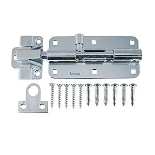 AjustLock 8 Inch Extra Heavy Duty Zinc Barrel Bolt Lock