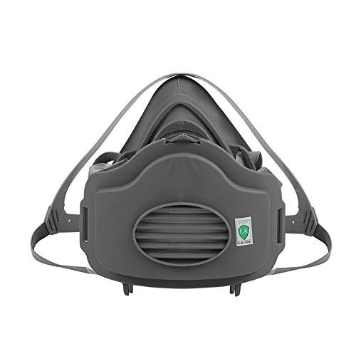 Dioche Staubmaske, Anti-Staub-Anti Industriebau Pollen Dunst Giftgas Familie & Professioneller Standortschutz(With 10pcs Filter Sponge)