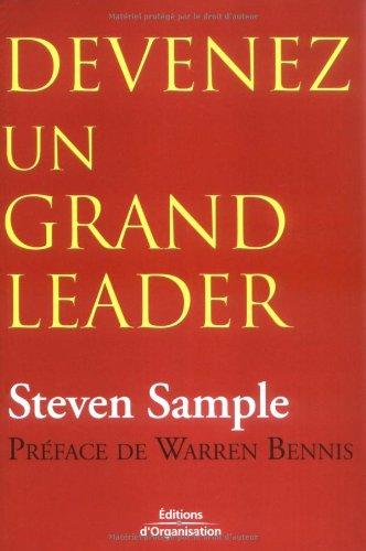 Devenez un grand leader