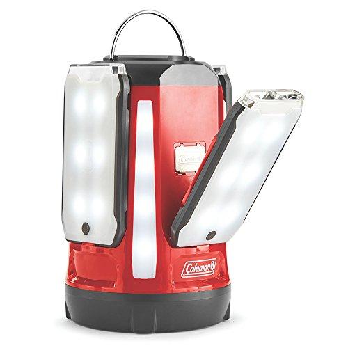Coleman Quad Pro 800L LED Laterne, rot