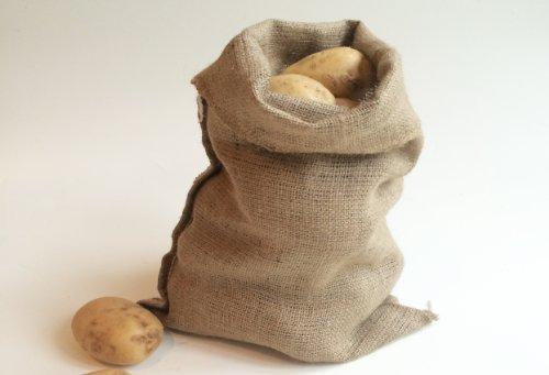 Nutley's Lot de 10 Sacs à Pommes de Terre en Toile de Jute Petit Format 250 g