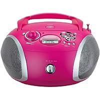 Grundig 1445  Radio CD USB Mp3, Rosa/Argento