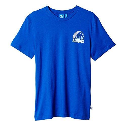 Adidas 45SST Tee der Männer T-Shirt, Herren, 45SST Tee S blau / weiß Preisvergleich