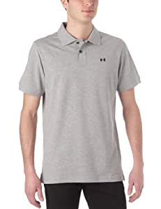 Under Armour CC Pique Solid Polo manches courtes homme True Grey Heather S