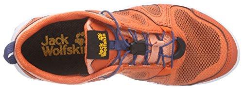 Jack Wolfskin Monterey Air Low W, Baskets Basses femme Orange - Orange (apricot pastel 3121)