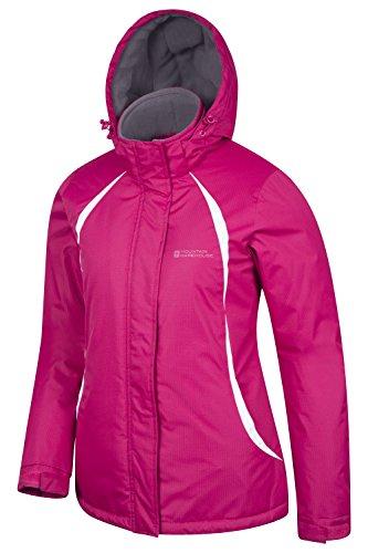 Mountain Warehouse Moon Damen-Skijacke leuchtendes Pink DE 48 (EU 50)